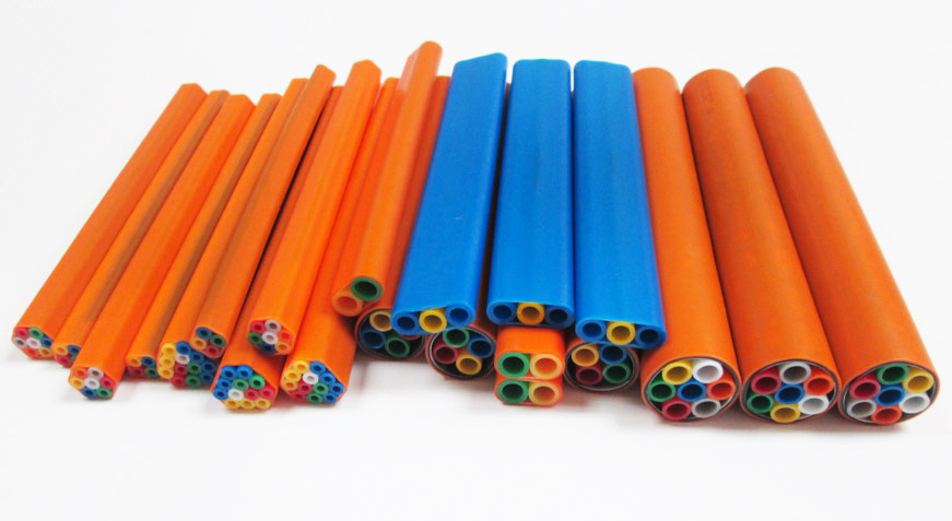 HDPE Micro Duct & Tube Bundle Fiber Optic System Micro Duct Solution